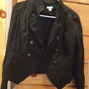 Military Style Jacket *EVERYTHING MUST GO*